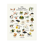 "Little Low Studio Great Outdoors Alphabet 11""x14"" Print"