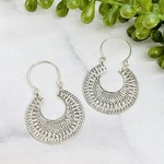 Anantara Silver Sacred Path Earrings