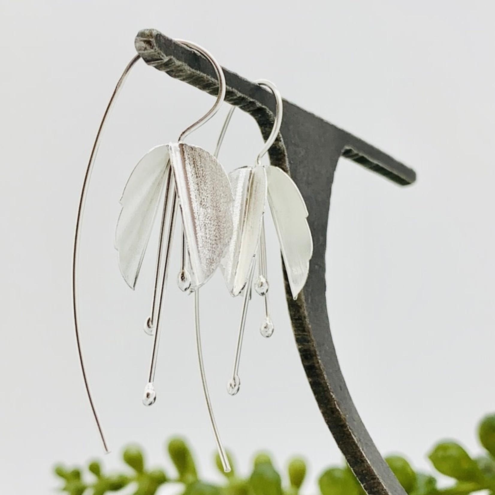 Anantara Silver Bouganvillia Earrings