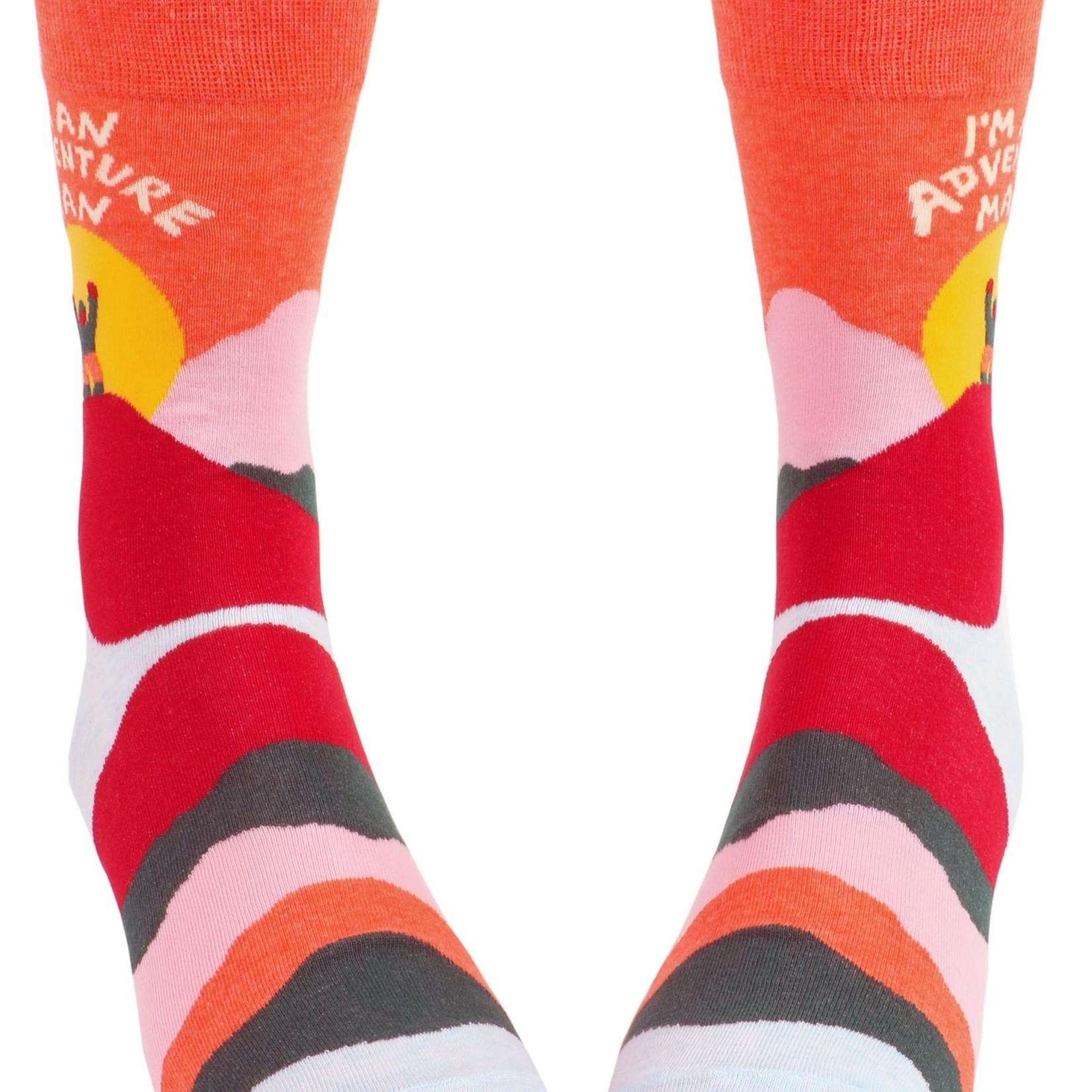 Adventure Man Men's Crew Socks