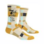 7th Grader For Life Men's Crew Socks