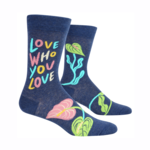 Love Who You Love Men's Crew Socks