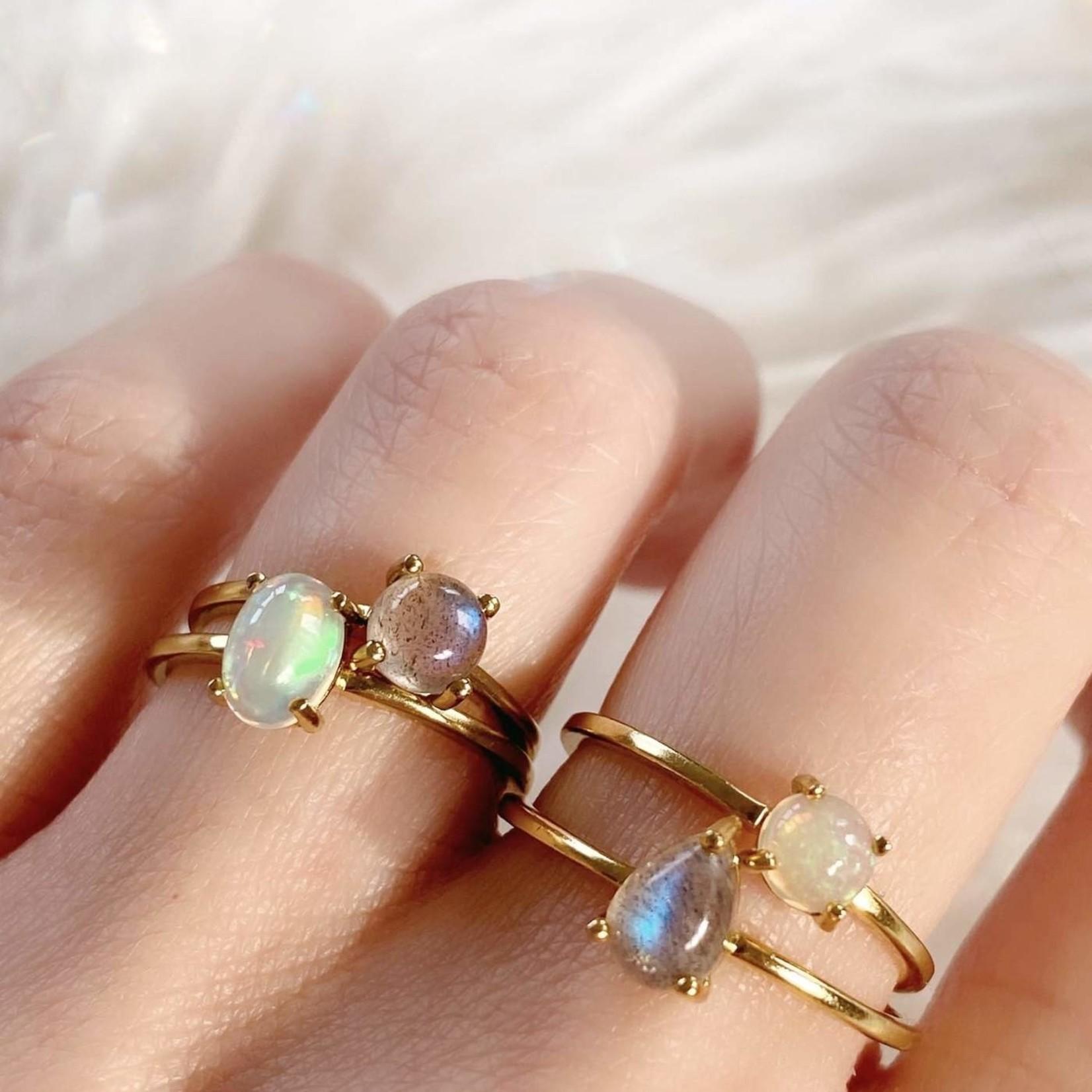 Opal Nova Ring