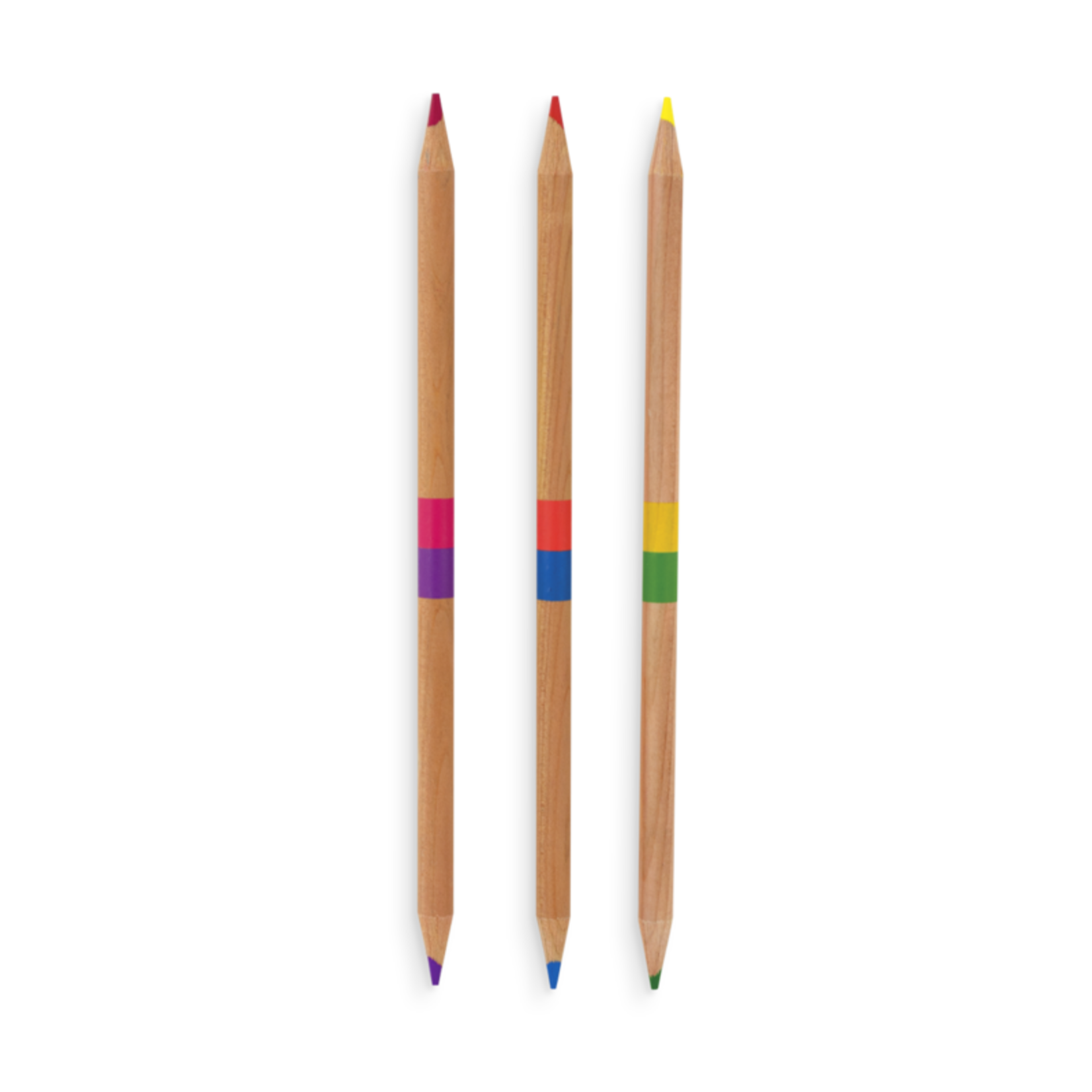 2 of a Kind Double-Ended Color Pencils