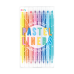 Pastel Liners Double Ended Markers