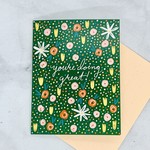 Little Low Studio You're Doing Great Floral Card