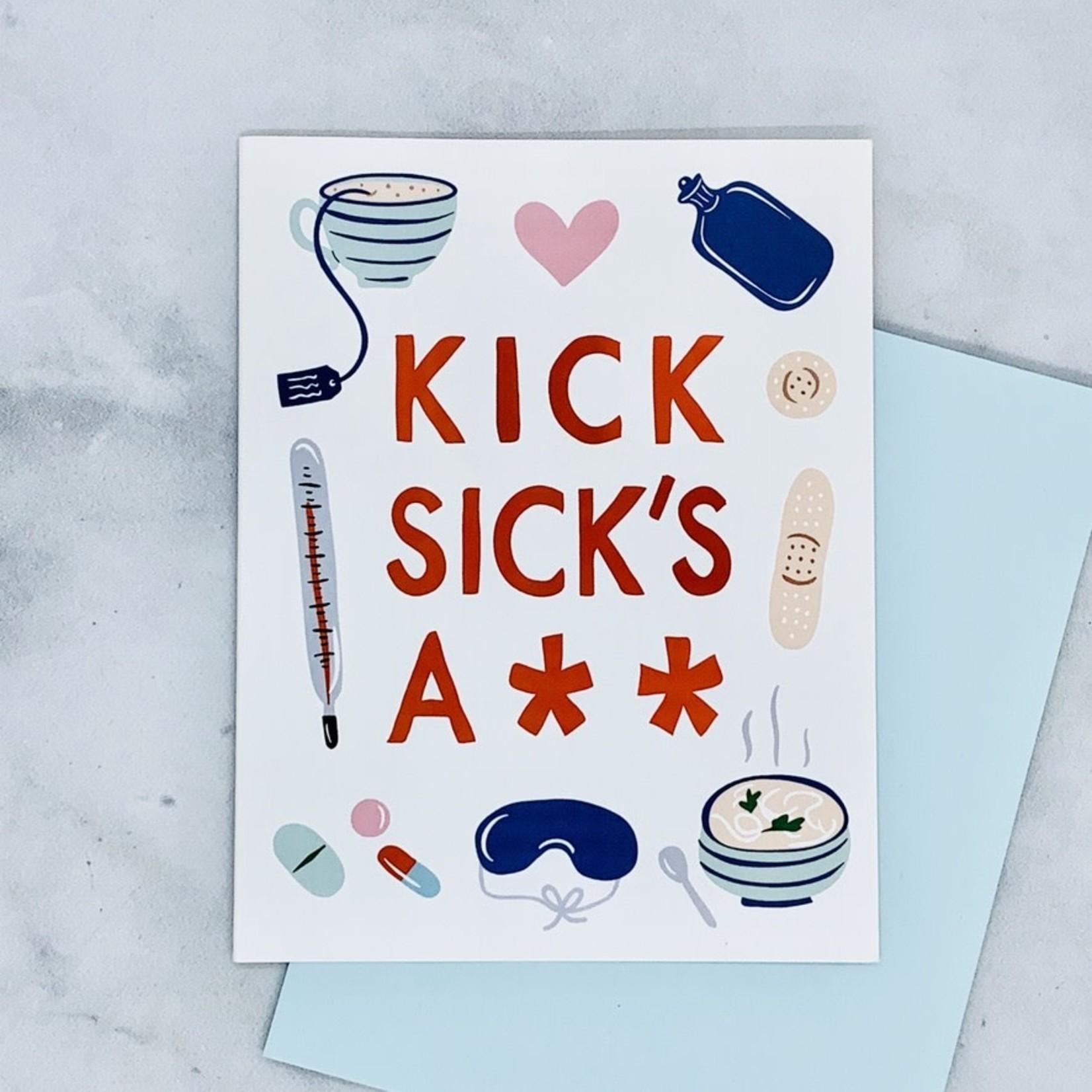 Little Low Studio Kick Sick's Ass Card
