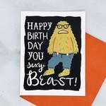 Little Low Studio Sexy Beast Birthday Card