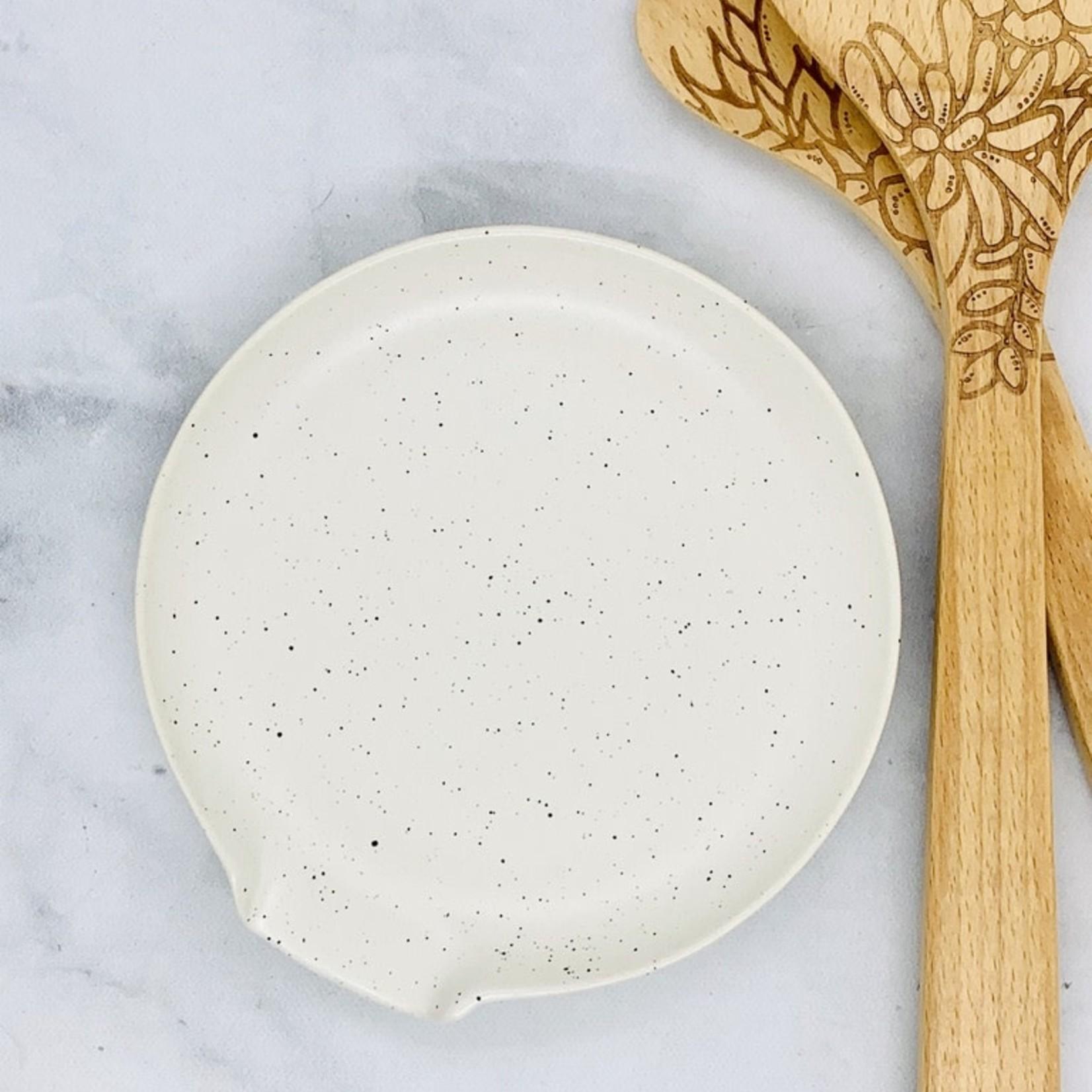 now design Terrain Sandstone Spoon Rest