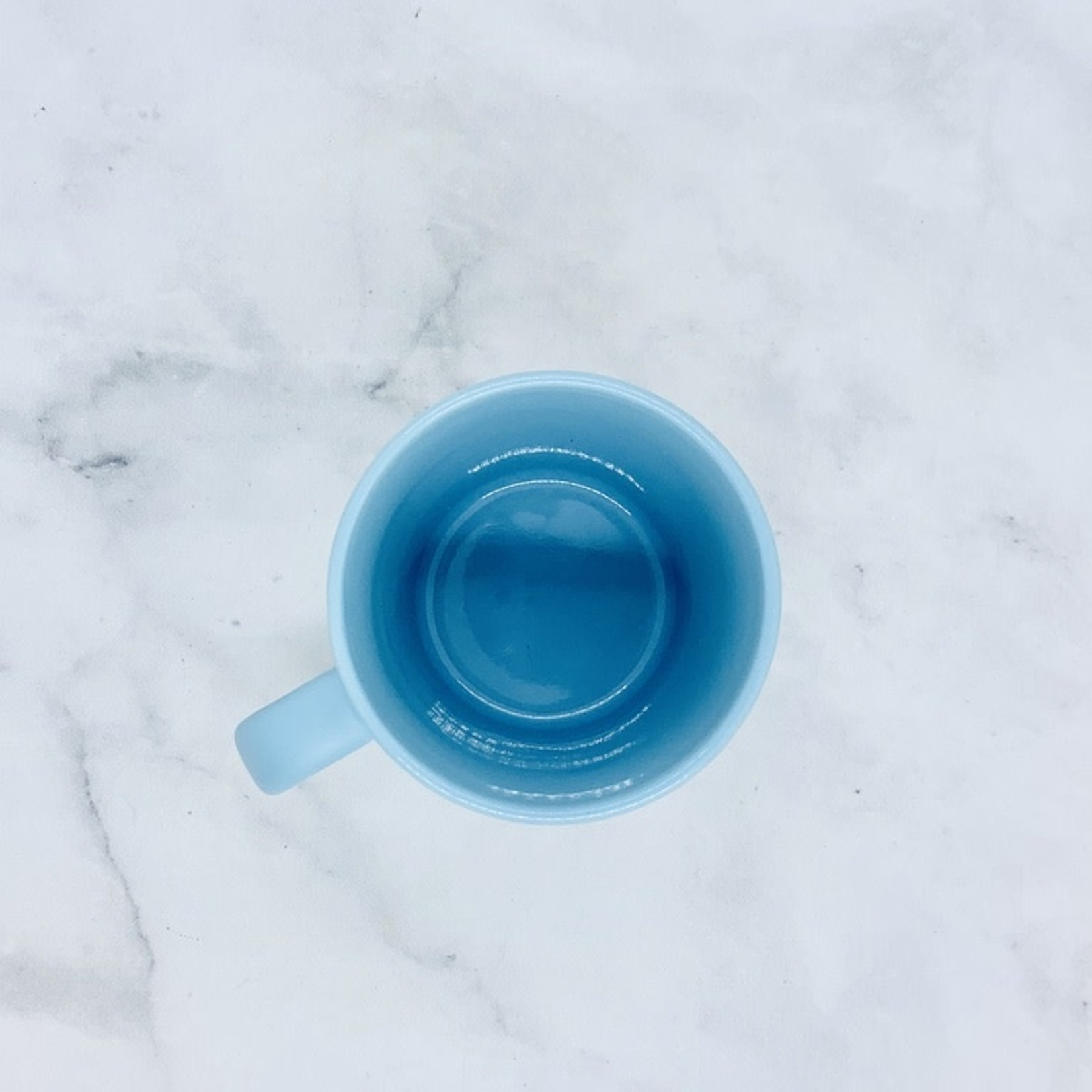 Let Shit Go Light Blue Mug