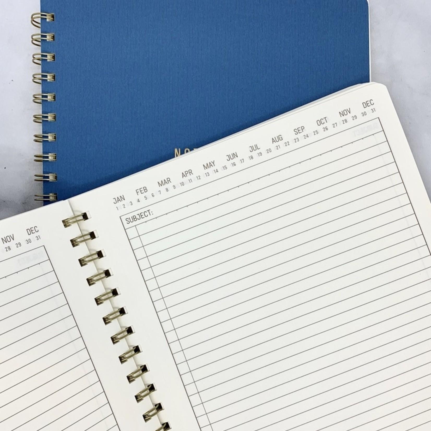 Design Works A4 Crest Notebook: