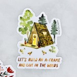 A-Frame Sticker