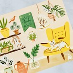 Little Low Studio The Plant Parent Sticker Story
