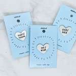 Heart Pronoun Pin