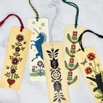 Wood Bookmarks With Tassel:
