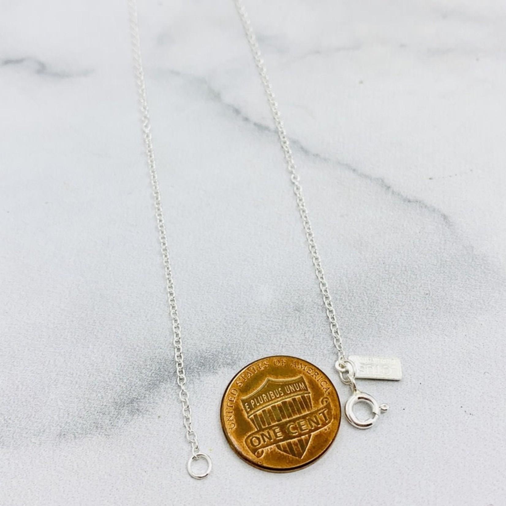 Sterling Silver Celeste Necklace