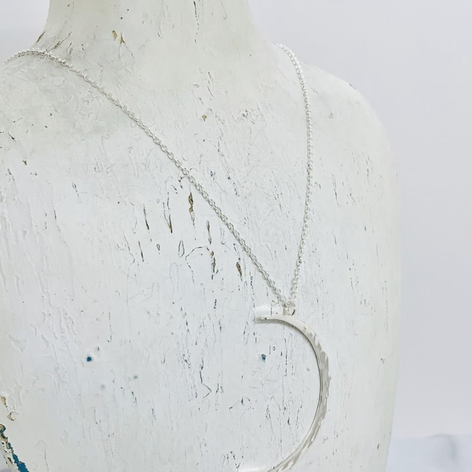 Large Silver Celeste Necklace