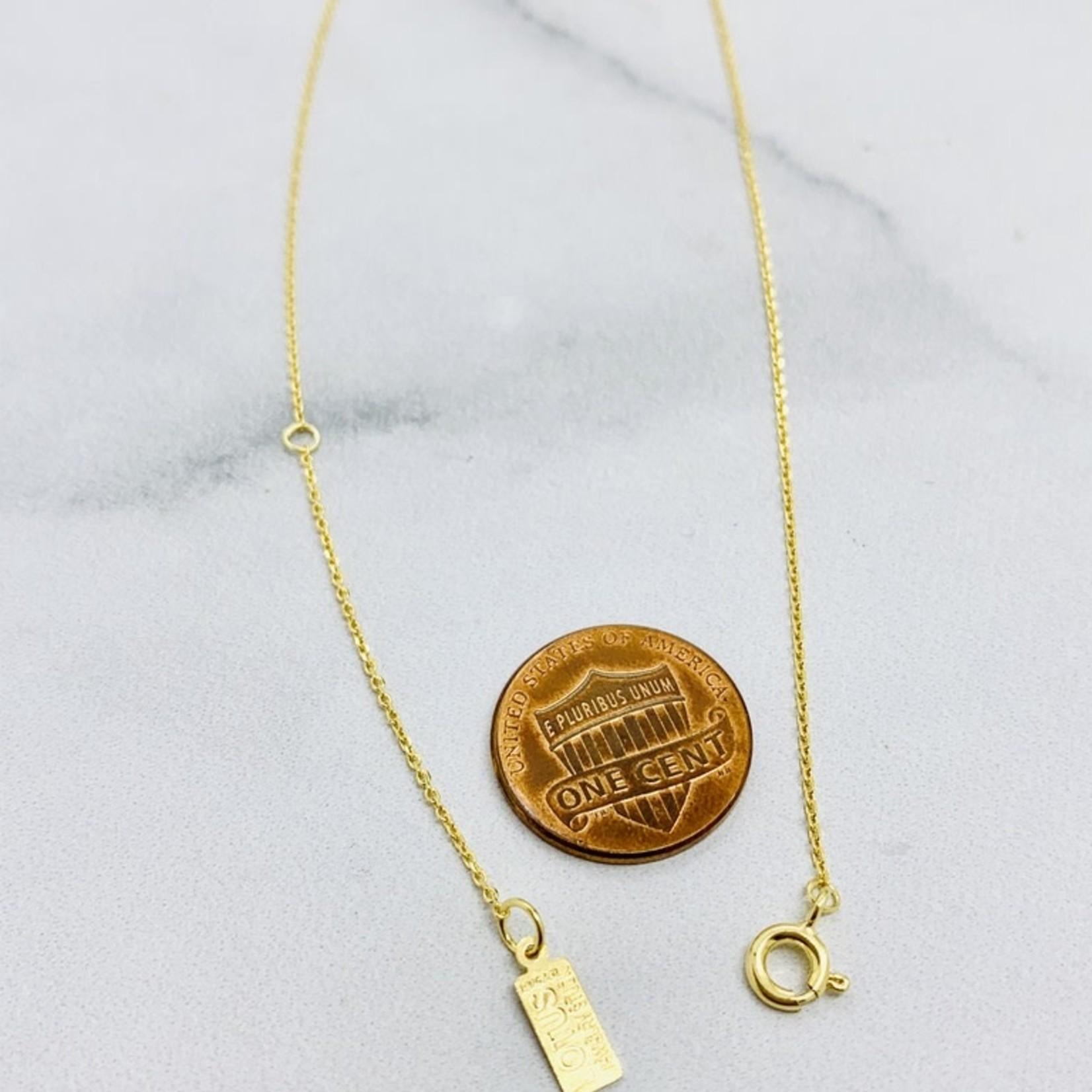 Goldfilled Mila Necklace, Kyanite
