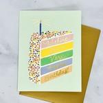 Cake Slice Birthday Card