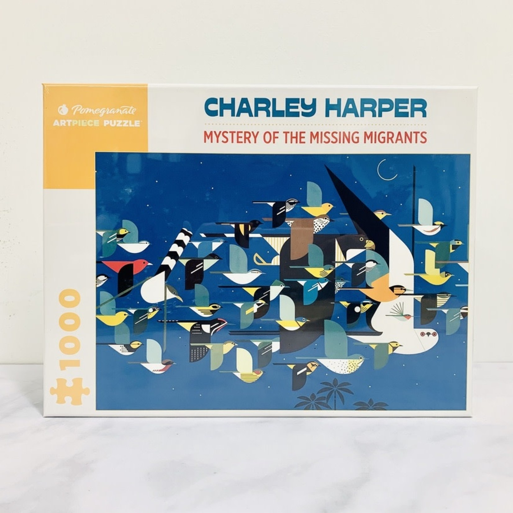 Charley Harper Missing Migrants 1000-pc Puzzle