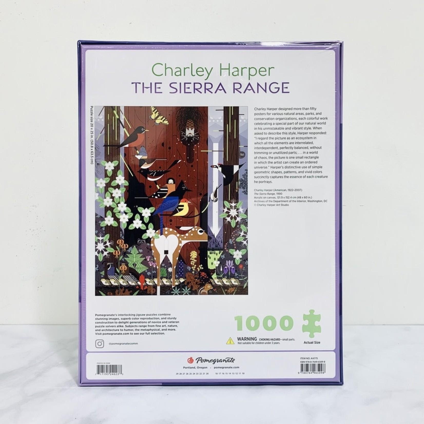 Charley Harper: The Sierra Range 1,000-piece Puzzle