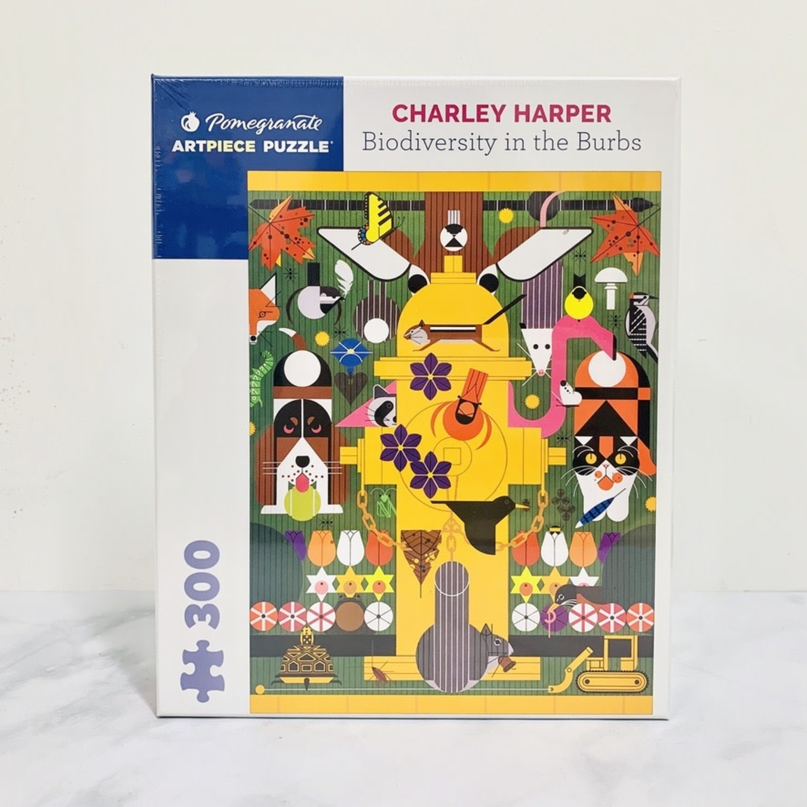 Charley Harper: Biodiversity In The Burbs 300-pc Puzzle