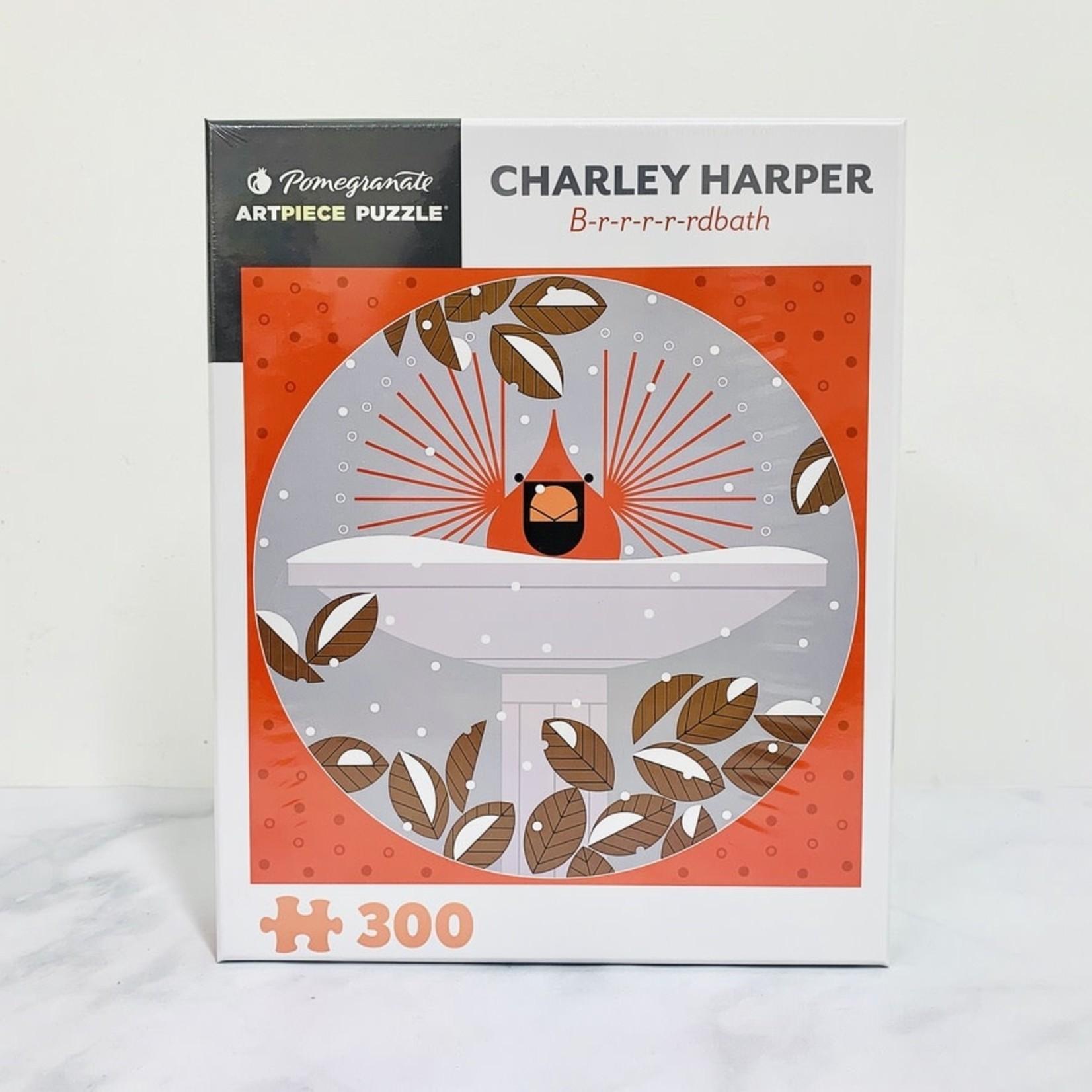 300-pc Charley Harper B-r-r-r-rdbath Puzzle