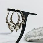 Baizaar Sterling silver jumka drop earring