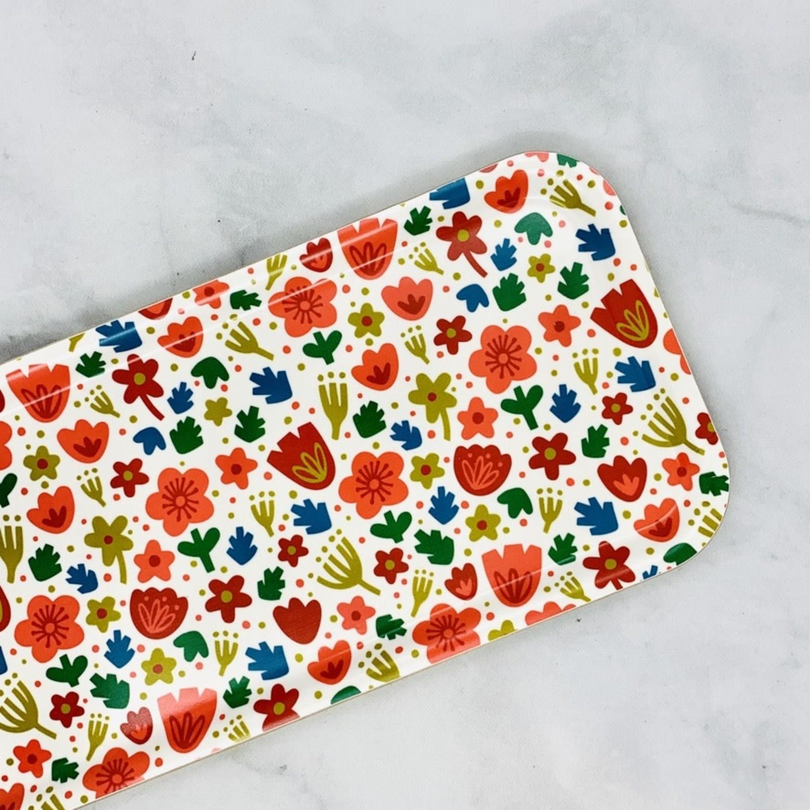 Paper Parasol Press Nordic Florals Swedish Birch Tray