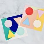 Poketo Poketo Geometric Sticky Notes