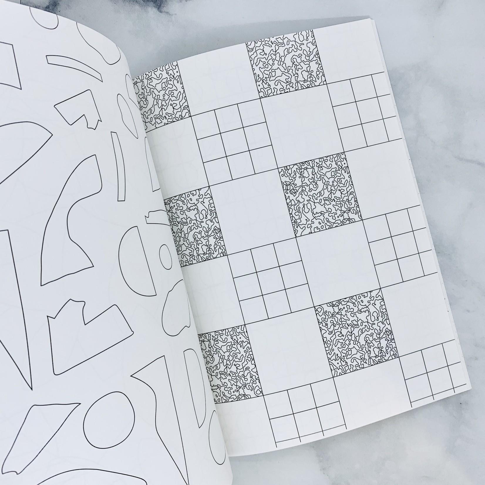 Poketo Modernist Coloring Book