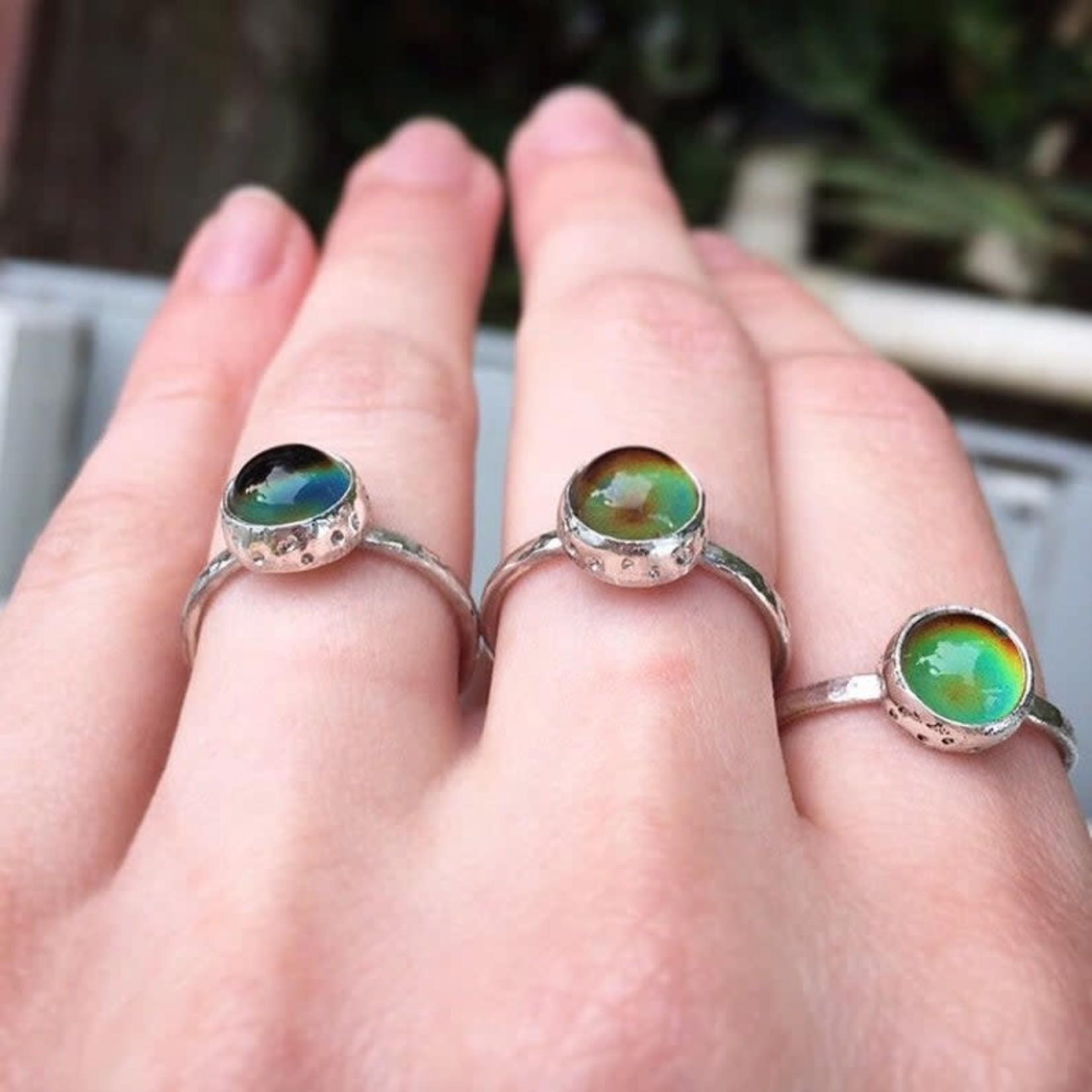 Handmade Silver Mood Ring