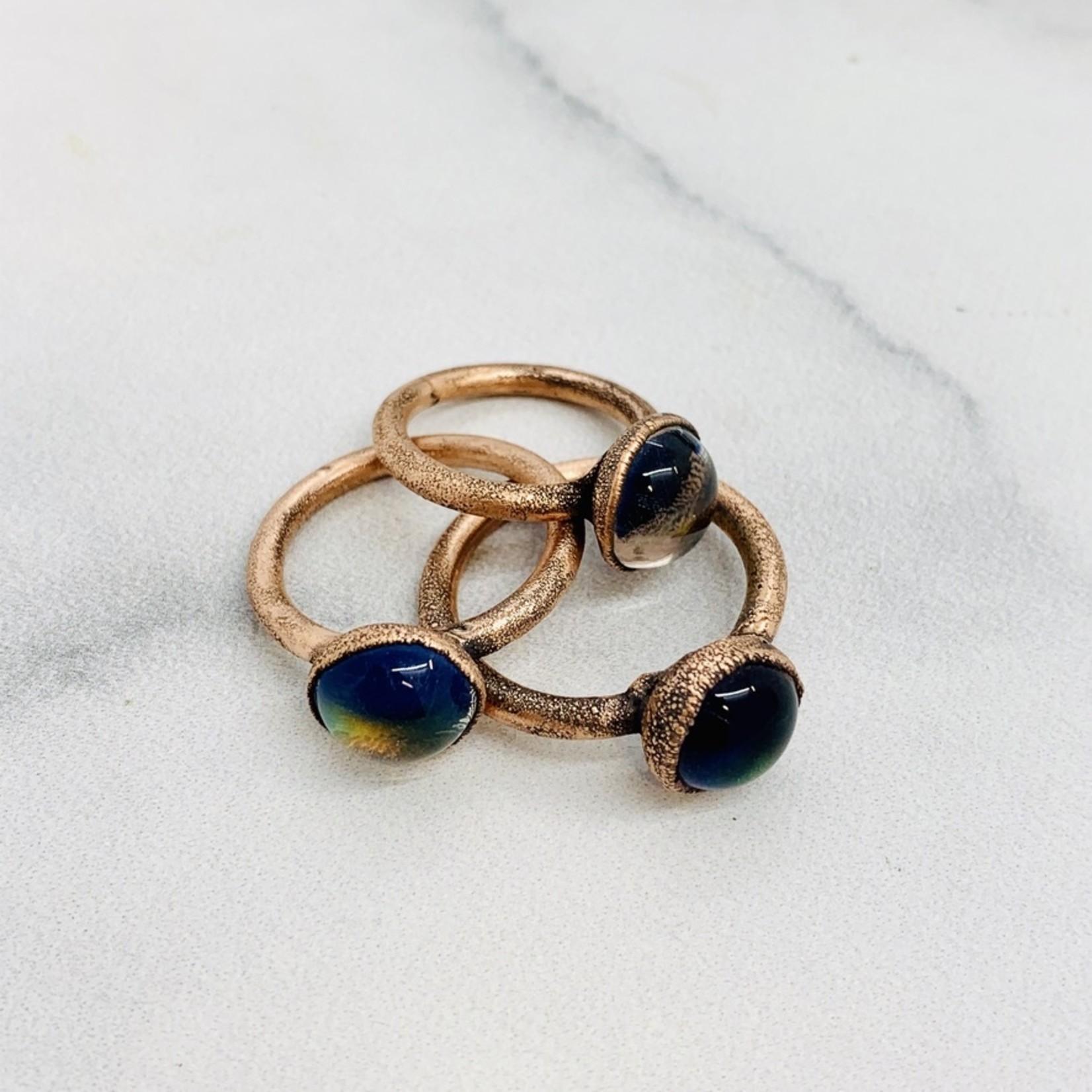 Handmade Copper Mood Ring