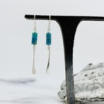 Talulah Silver and Turquoise Earrings