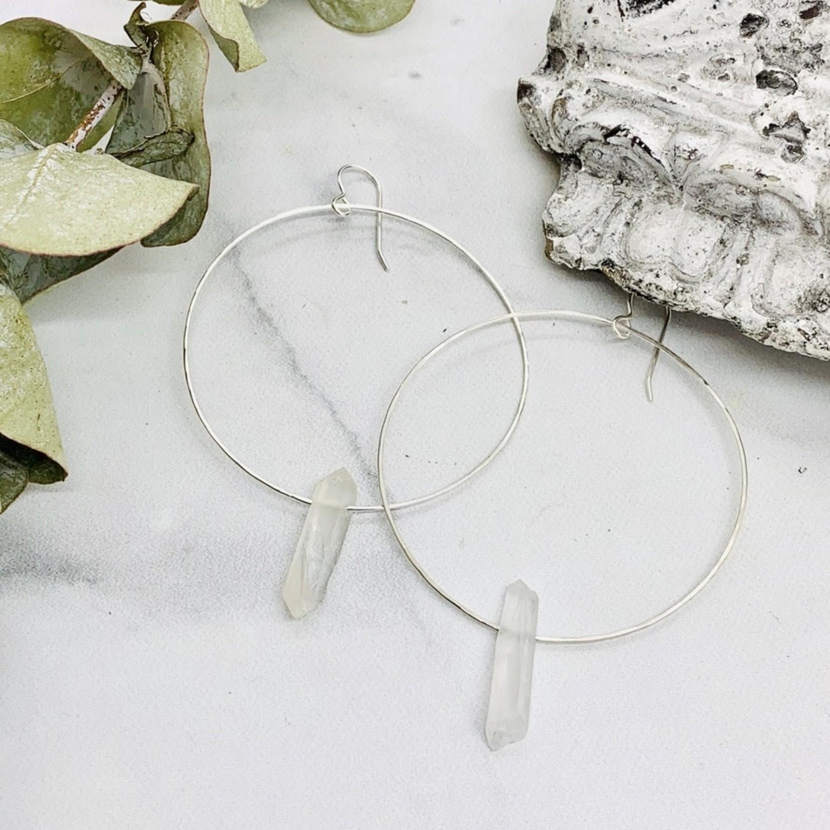 Alchemy Earrings, Silver