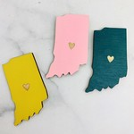 Indiana Heart Magnets