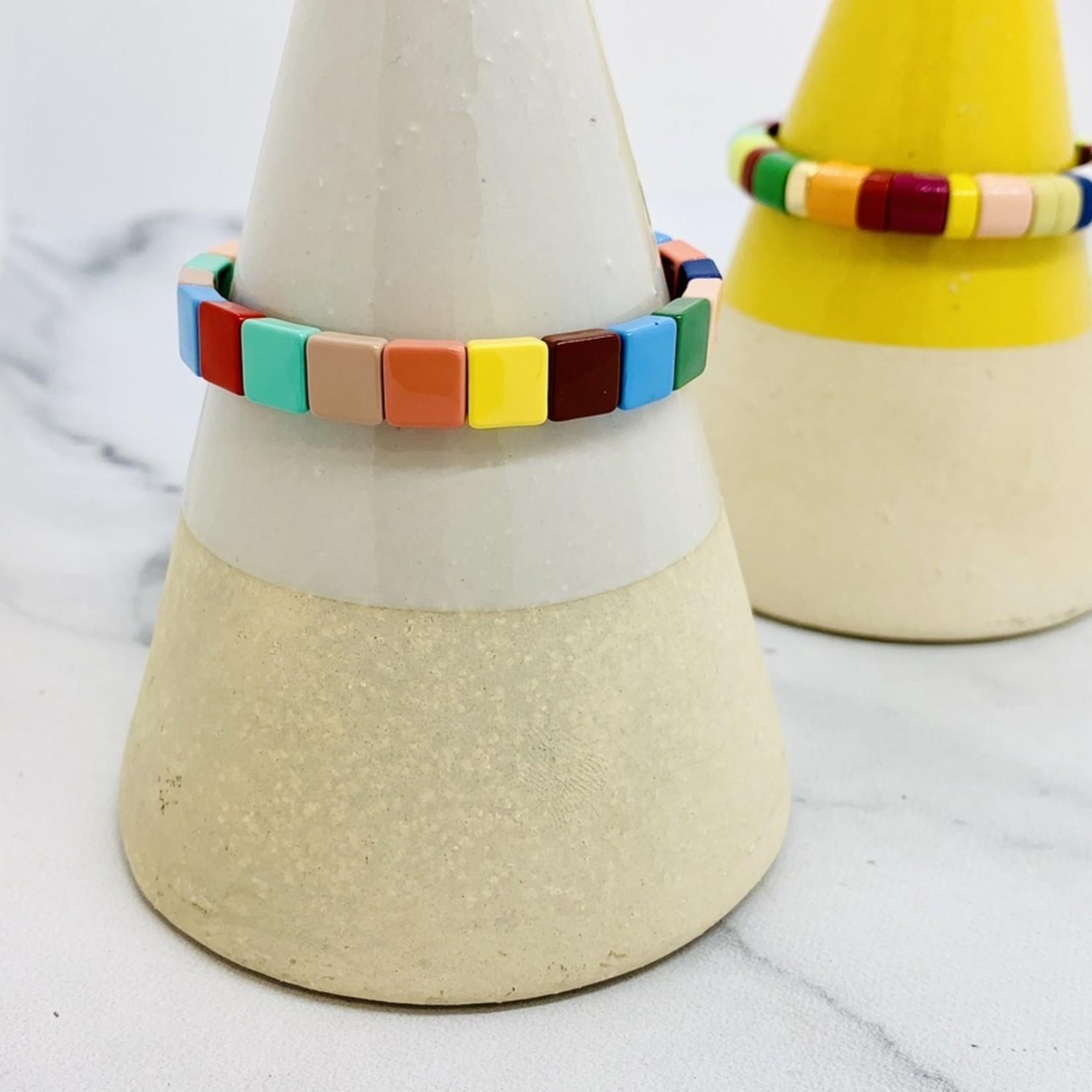 BeadBoat Tila Tile Stretch Bracelet