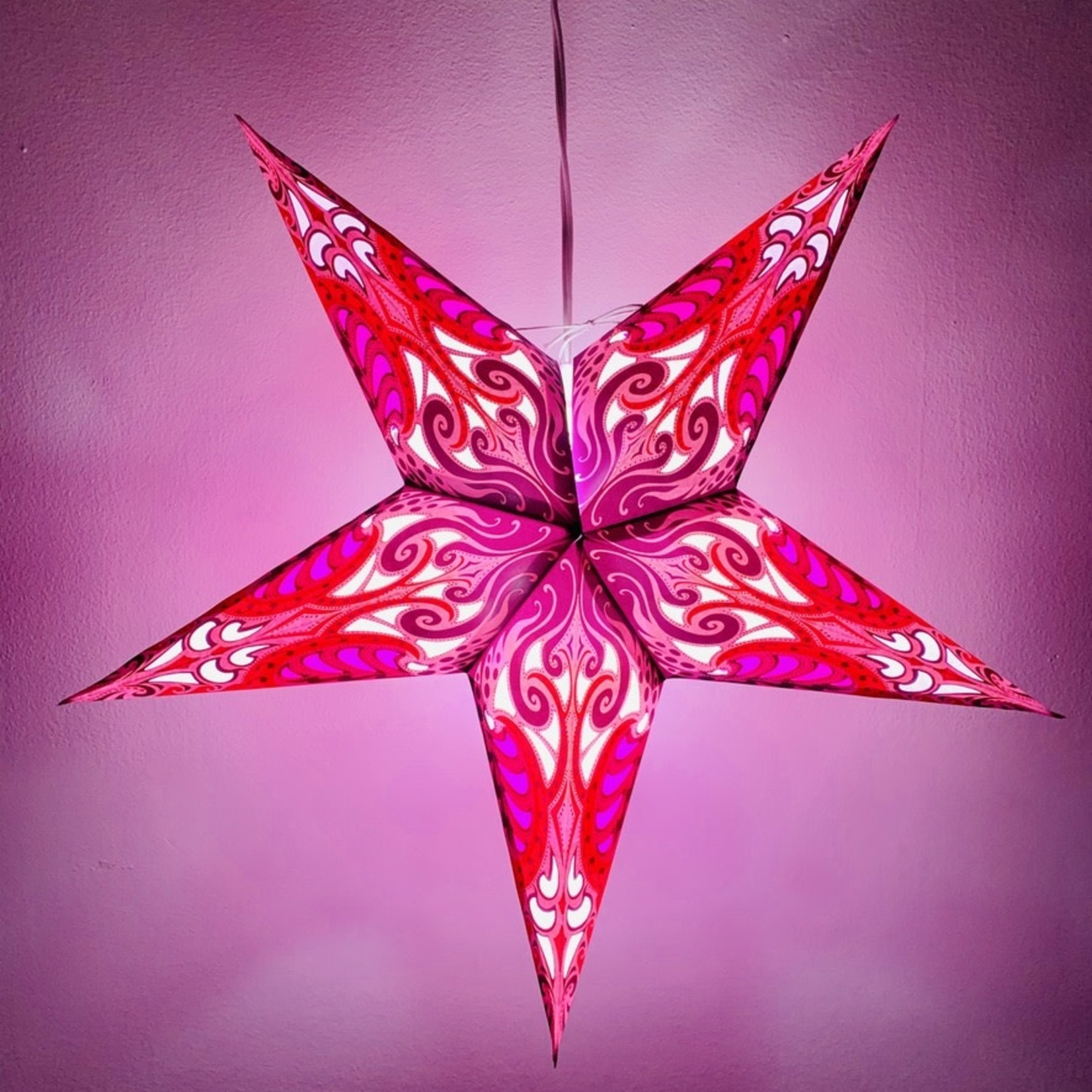 Lavender Andromeda Star Light with 12' Cord