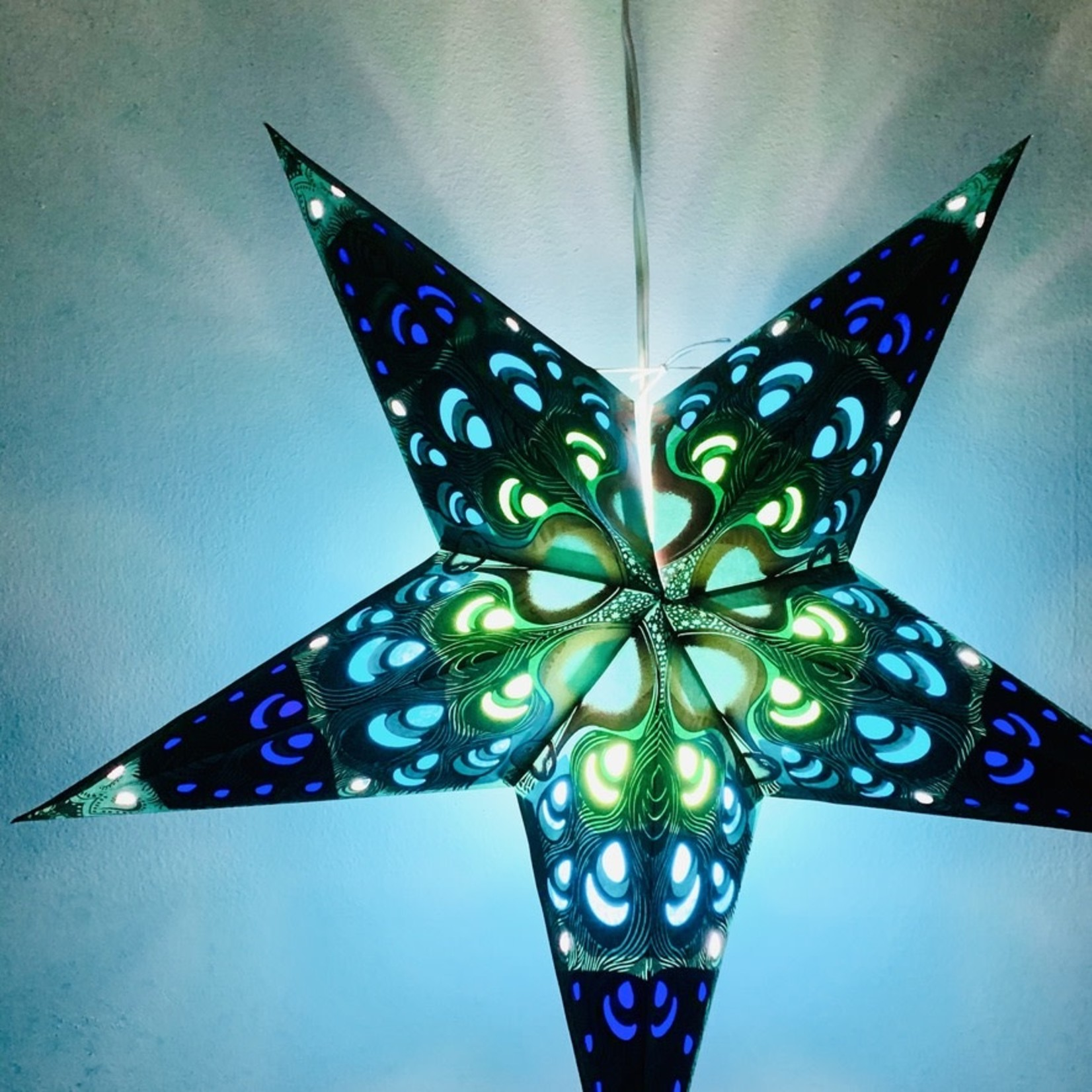 Green Pulse Star Light with 12' Cord