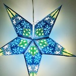 Blue Supernova Star Light with 12' Cord
