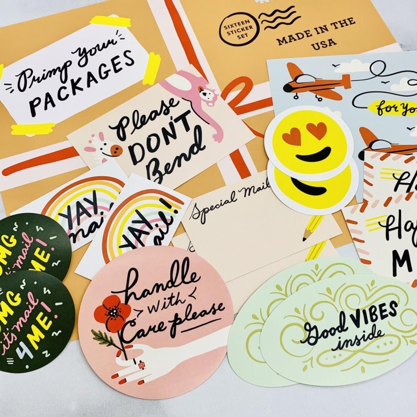 Little Low Studio Primp Your Package Sticker Set