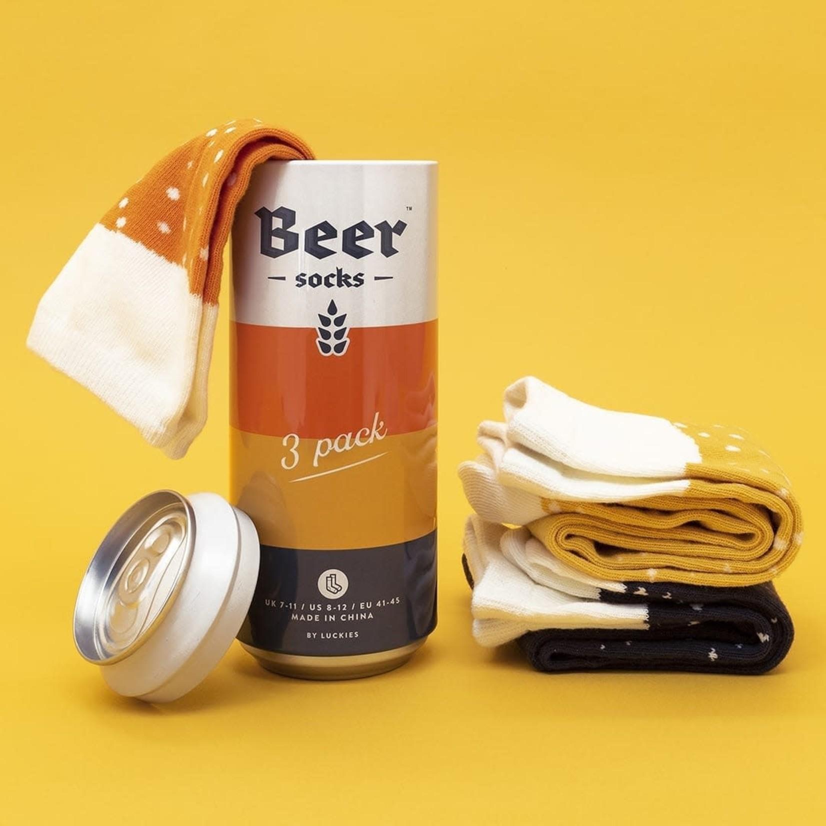 Beer Socks 3 Pack