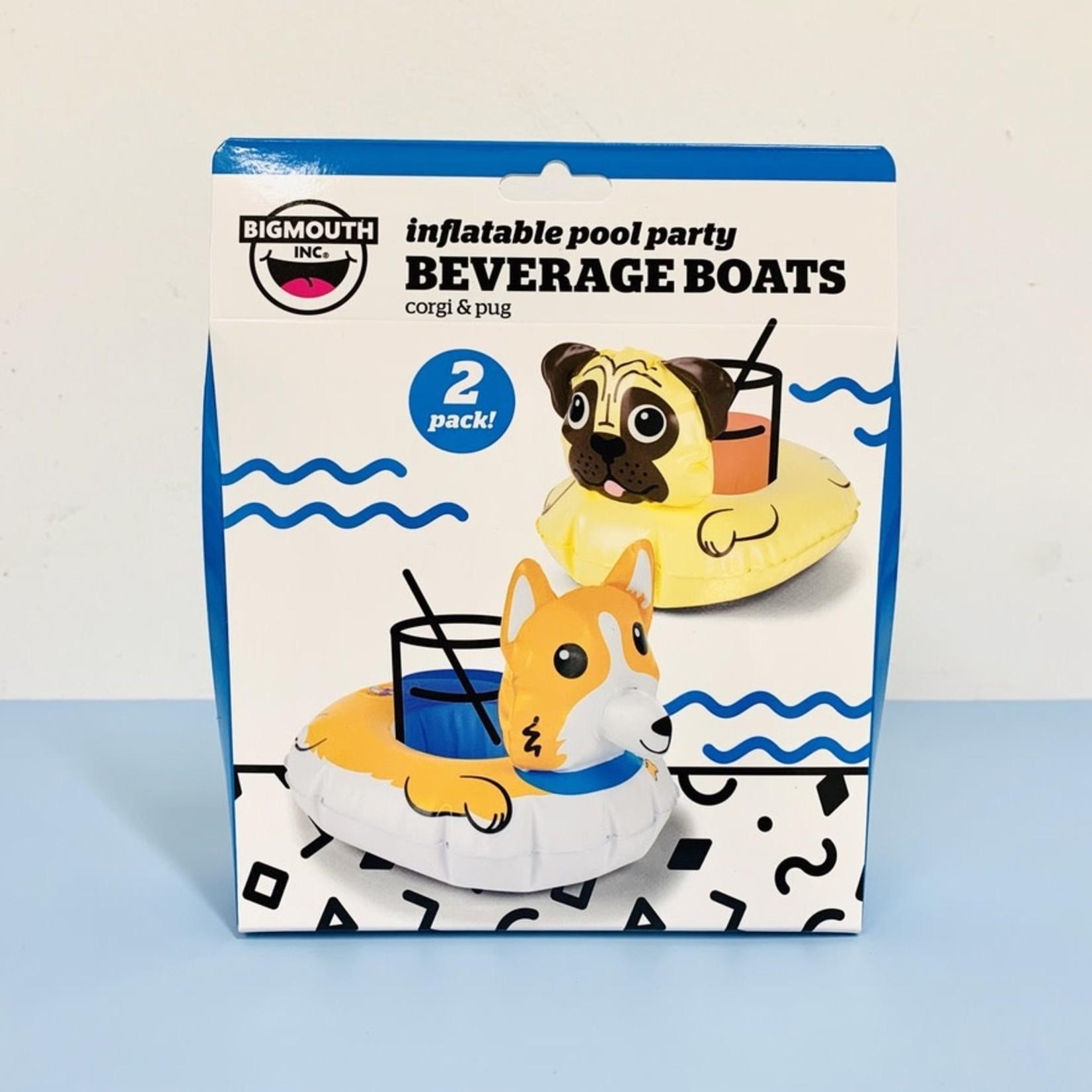 Big Mouth Inc. Corgi Beverage Boats