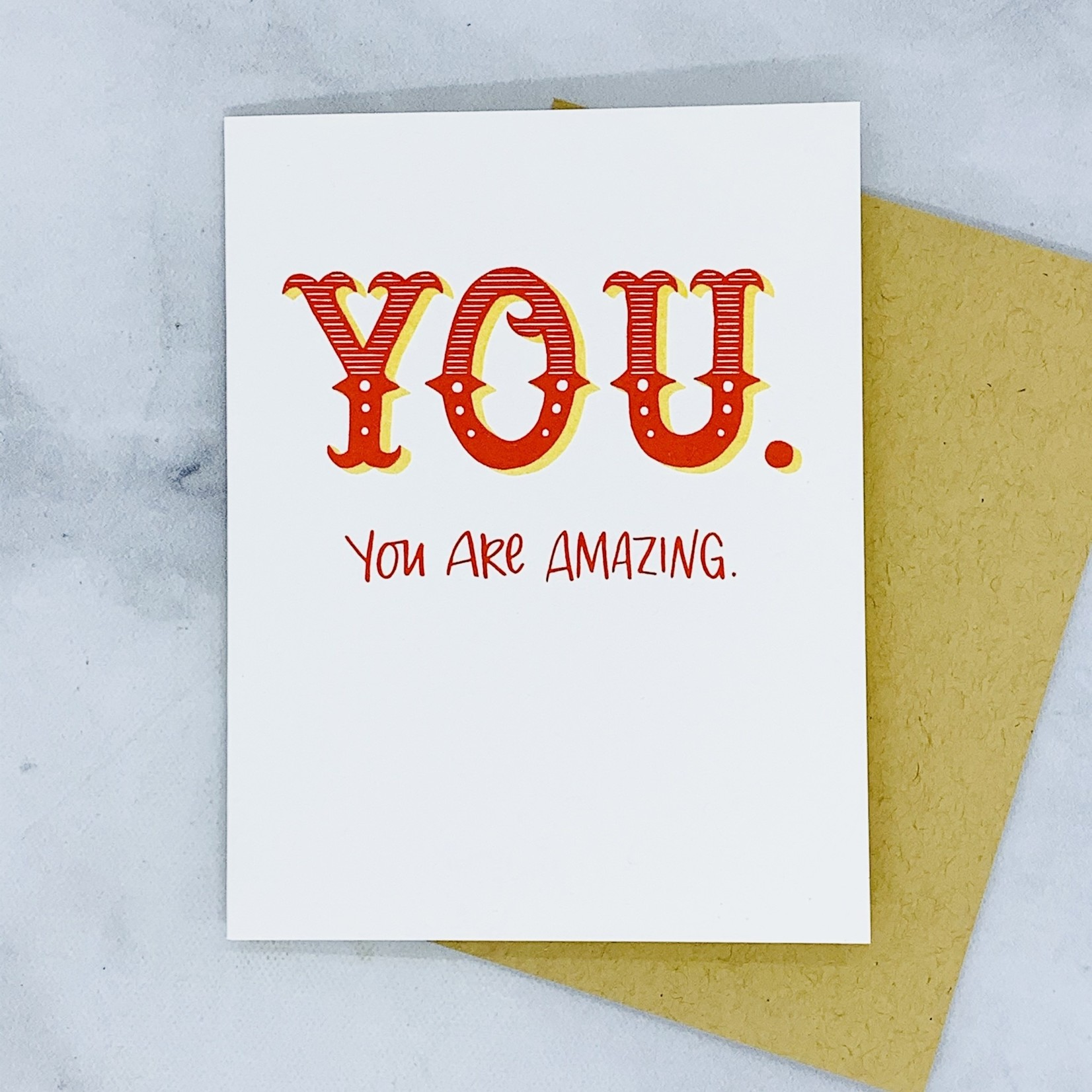 Frog & Toad Press YOU Are Amazing Card