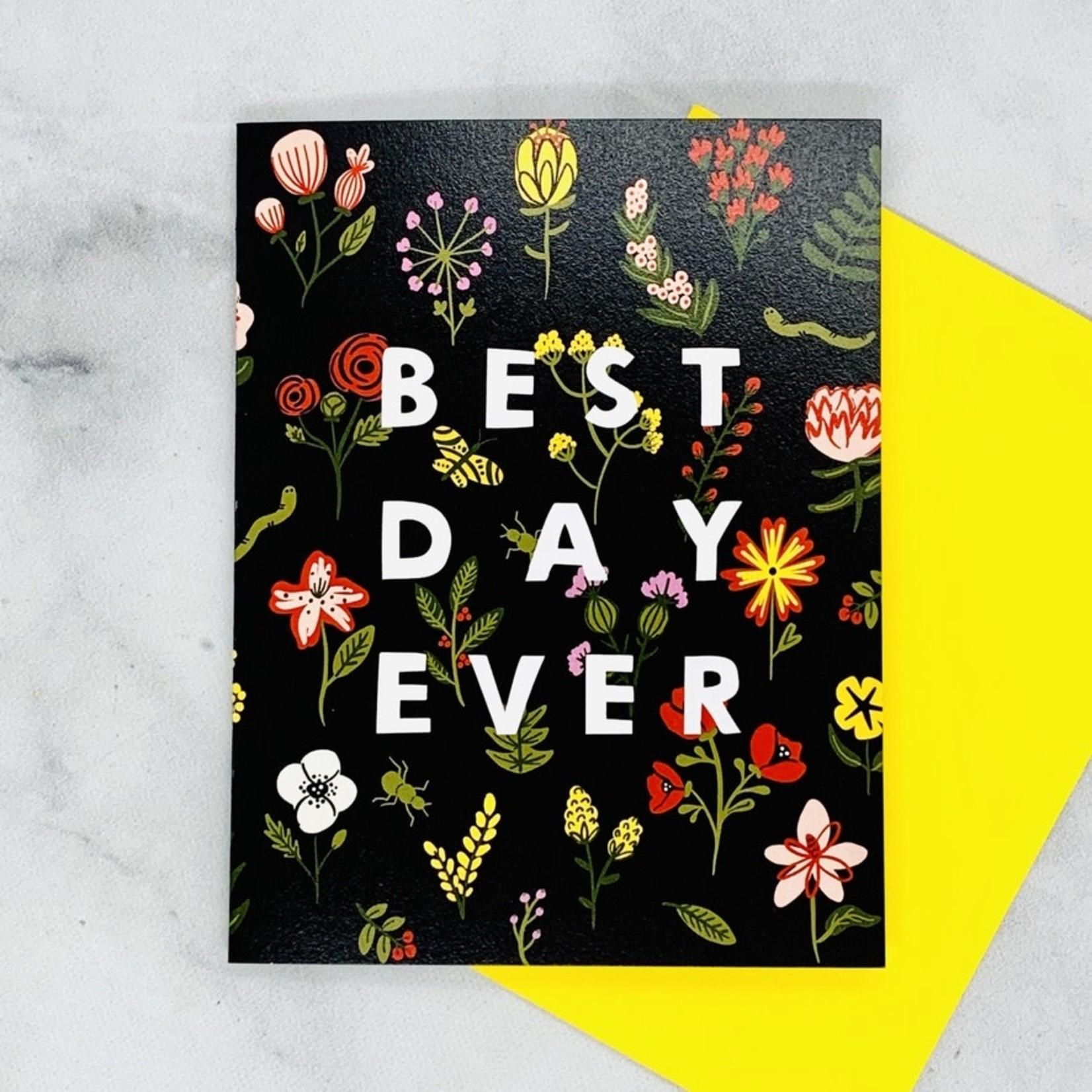Little Low Studio Best Day Ever Celebration Card