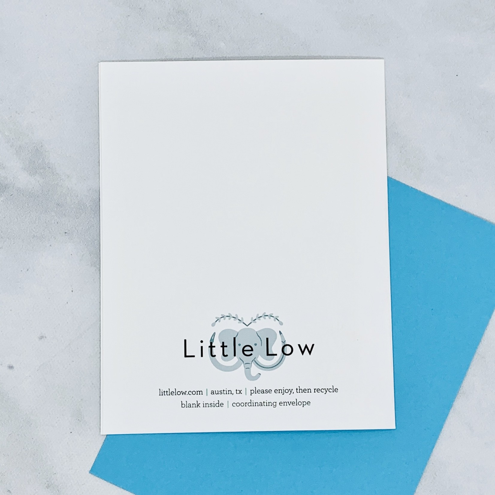 Little Low Studio Stop Being Awesome Card