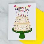 Little Low Studio Sprinkles Cake Birthday Card