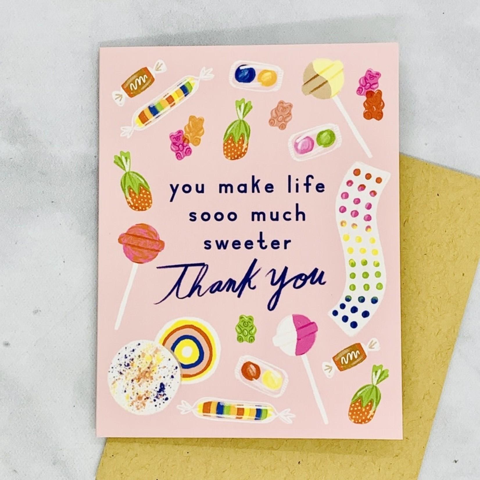 Little Low Studio Sweet Thank You Card