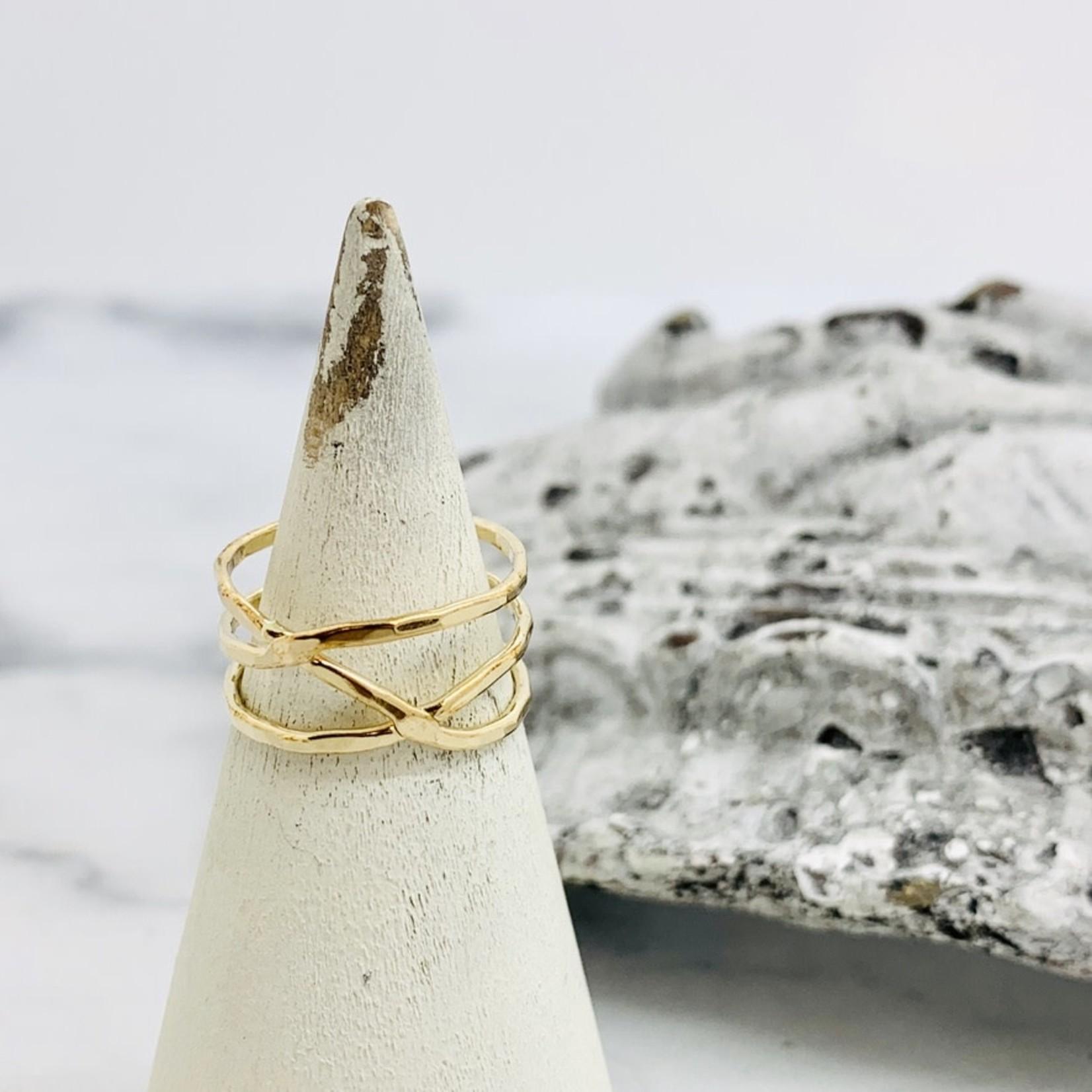 Sun & Selene Aphrodite Wrap Ring, GF