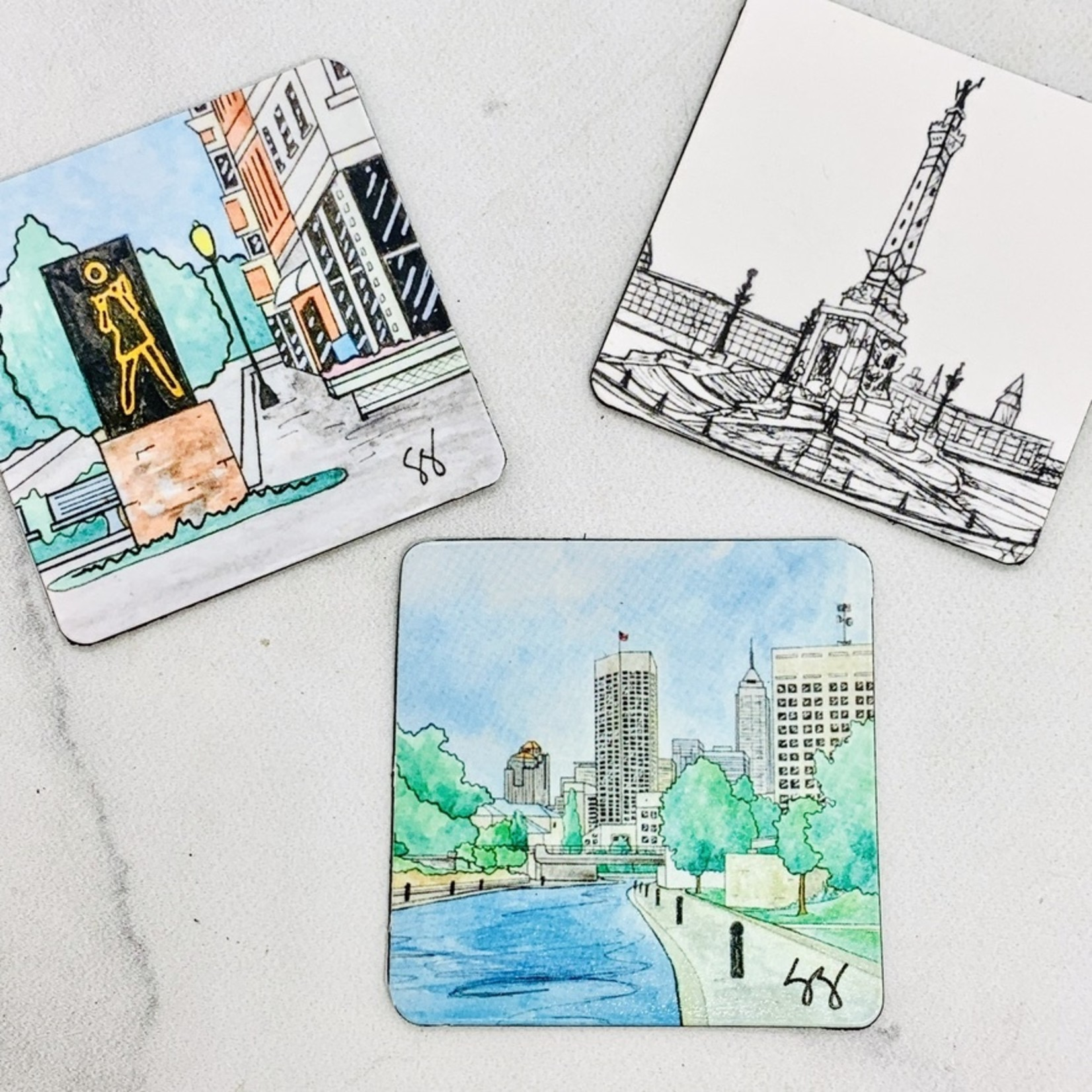 Skye Smith Indy Icon Magnets